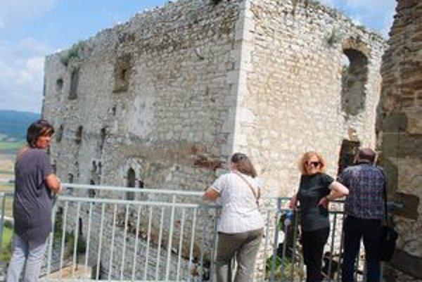 Románsky palác. Po zreštaurovaní bude konečne prístupný verejnosti.