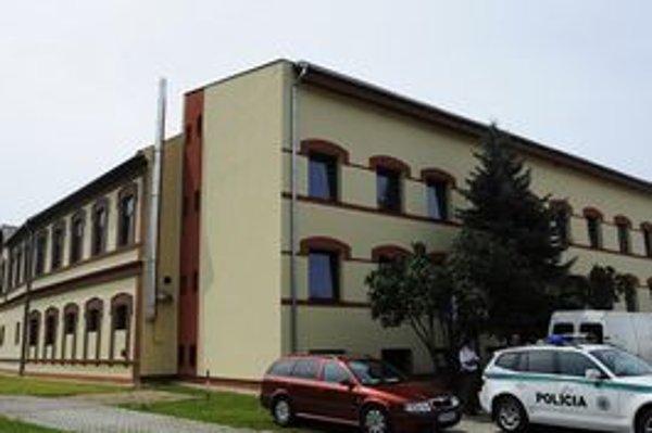 Budova priemyselného parku v Gelnici.