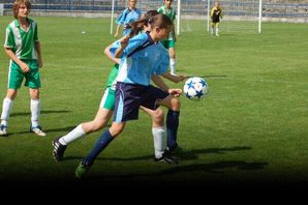 Majka Mikolajová hrá futbal od štvrtého ročníka.
