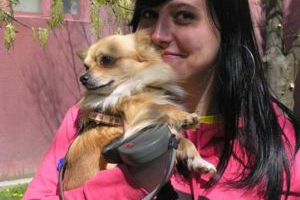 Petra túžila po psovi odmala, zo svojho Tina má veľkú radosť.