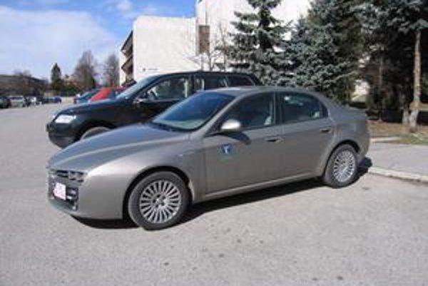 Alfa Romeo 159. Na takomto fáre jazdil starosta.