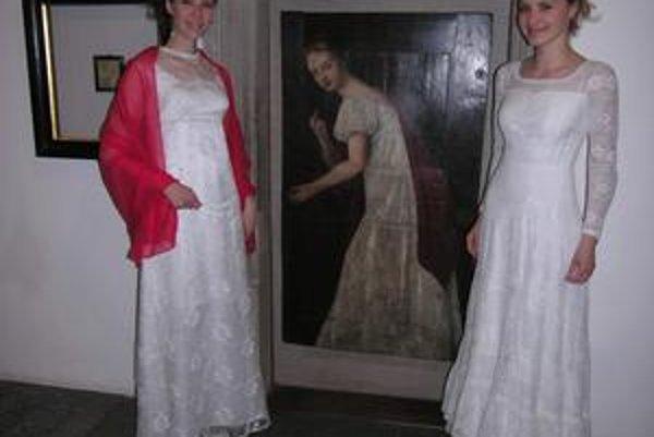 Ostal iba obraz. Radnicu zdobí aj obraz popravenej krásnej Juliany. Dnešné levočské biele panie pózovali návštevníkom.