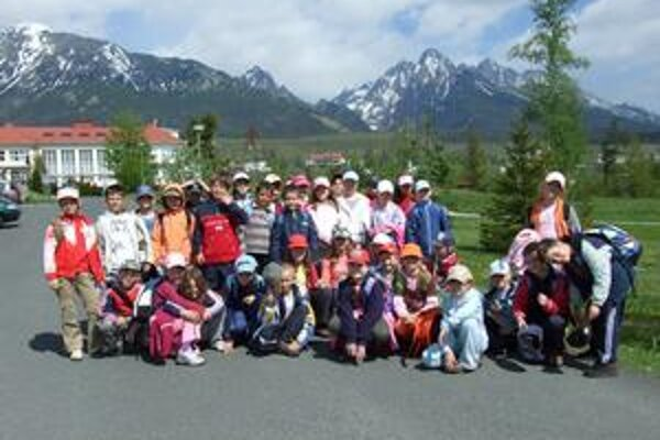Vo Vysokých Tatrách. Deti tu strávili päť dní.