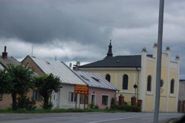 Židovská synagóga. Je najnavštevovanejšou pamiatkou v Spišskom Podhradí.