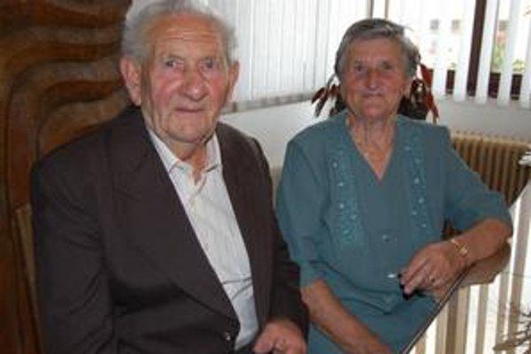 Manželia spolu žijú už 60 rokov.