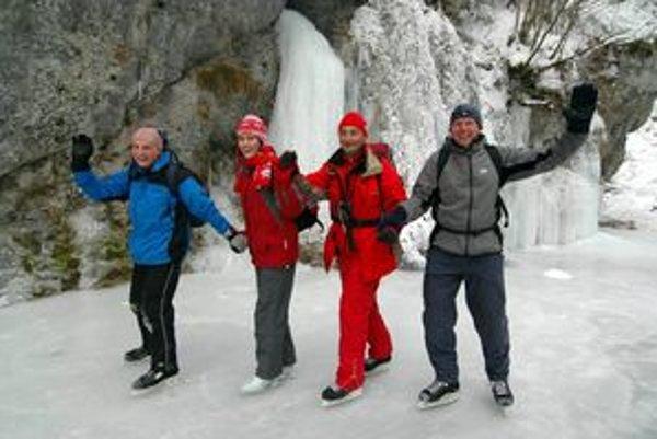 Zimný Slovenský raj má špecifické čaro.