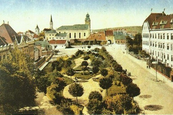 Aj takto kedysi vyzerala Levoča.