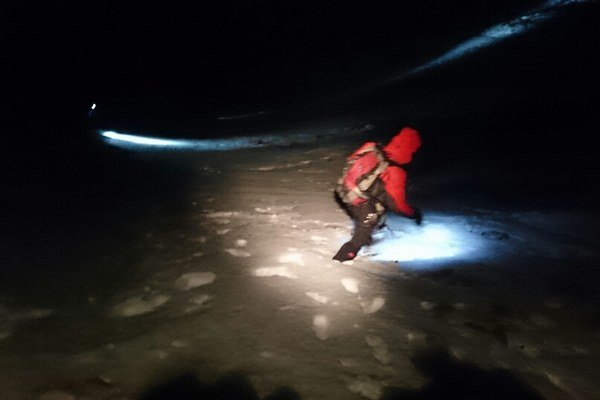 Záchranná akcia v masíve Kriváňa.