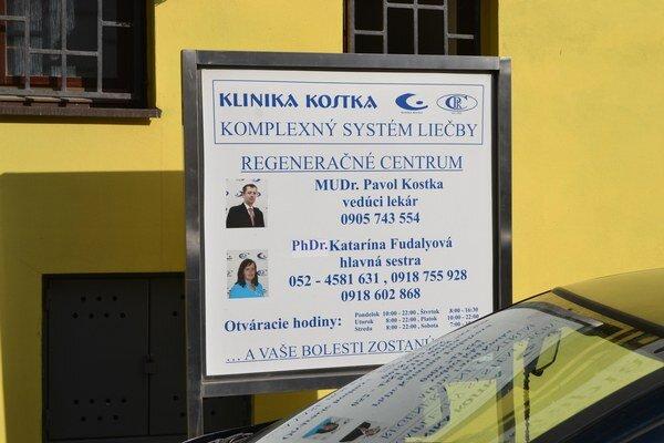 Klinika v Spišskej Belej. Súčasťou je aj Kostkov dom.