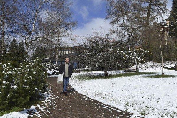 Vysoké Tatry. Počas uplynulého týždňa pribudol sneh.