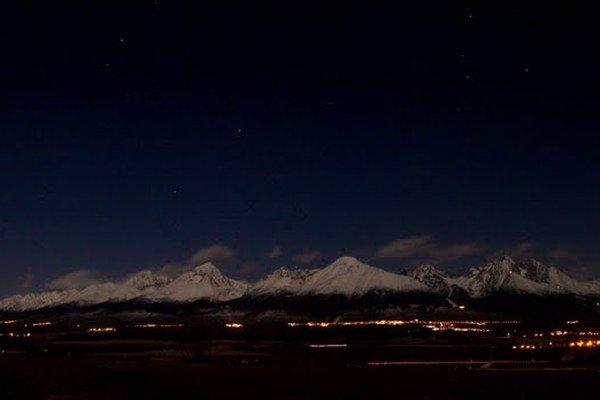 Vidieť Tatry v noci je úchvatný zážitok. V piatok ho umocnia zaujímavé akcie.