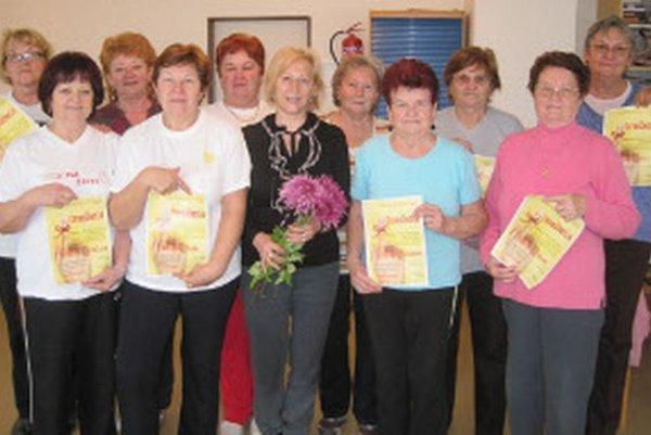 Seniorky z Kanianky absolvovali tréningy pamäti.
