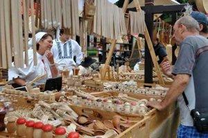 Festival ľudového remesla. Každoročne do Kežmarku priláka tisíce ľudí.