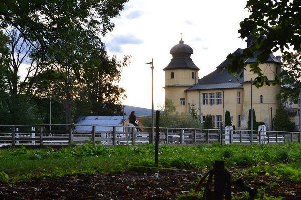 Biofarma v Spišskom Štiavniku. Nachádza sa v bývalom verejnom parku pod kaštieľom.