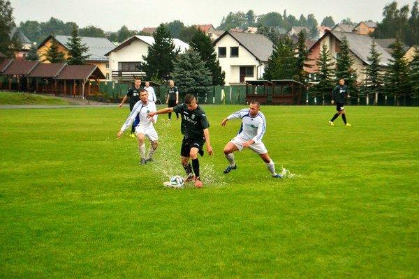 Premočený terén. Michalovce vyhrali v Štrbe presvedčivo 5:0.