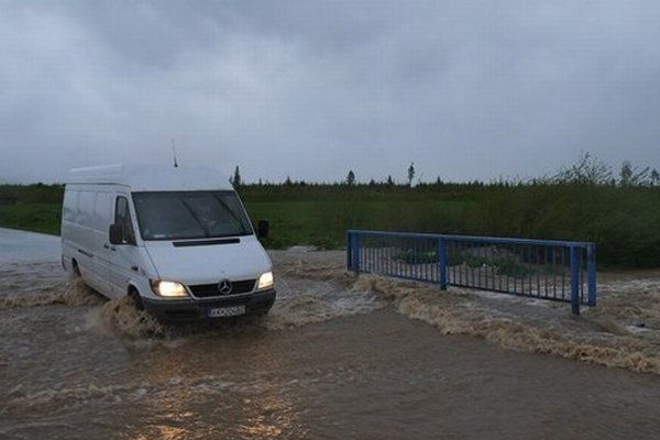 Zaliaty most pri obci Rakúsy v okrese Kežmarok.