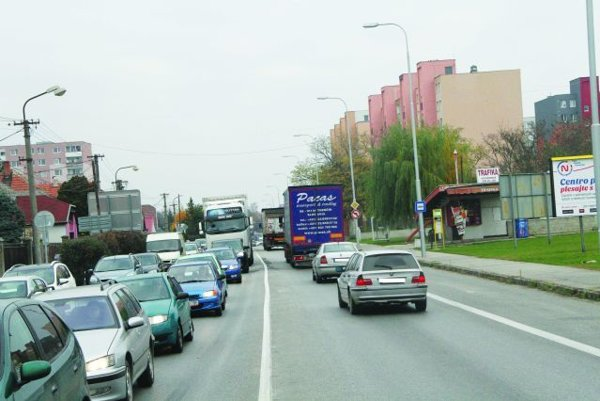 Doprava je Achillovou pätou v meste.
