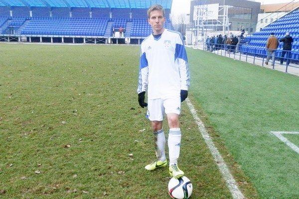 Marián Ferenc. Patrí medzi opory popradského tímu.