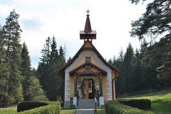 Kostolík v Kvetnici.