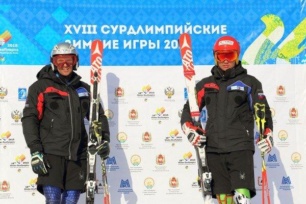 Kežmarčania. Zľava: Martin Legutky ml. a Dávid Pristač.