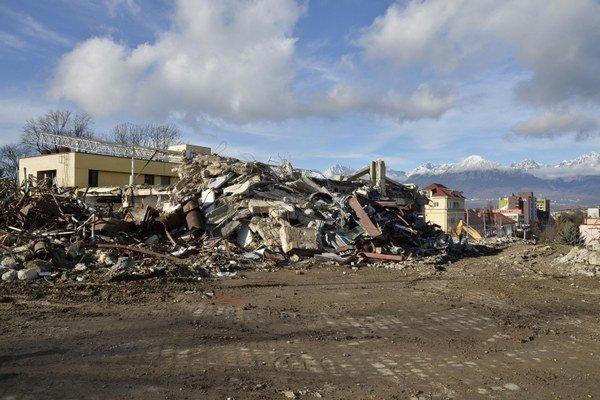Na mieste zbúraniska Prioru má vyrásť nové obchodné centrum.