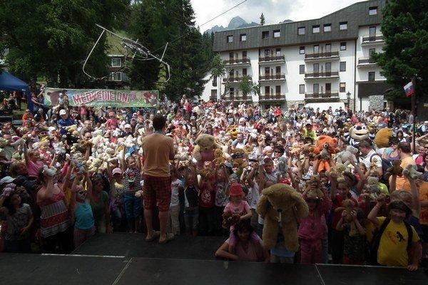 Medvedie dni lákajú do Tatier tisíce najmä detských návštevníkov.