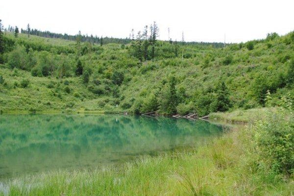 Náučný chodník vedie aj k Jezerskému jazeru.