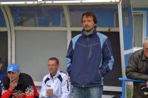 Ján Chmura. Tréner Popradu B môže byť s jeseňou spokojný.