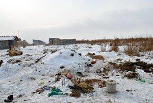 Hlavný problém. Obyvatelia osady neplatia hlavne za smeti.