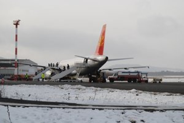 Medzinárodné letisko v Poprade. Pri olympiáde by hralo kľúčovú úlohu.