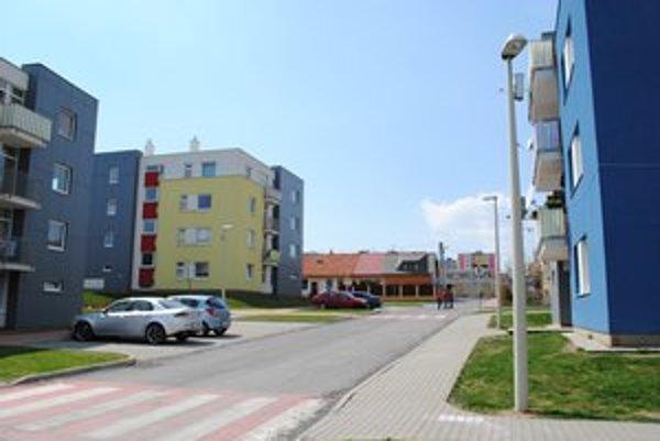 Nájomné byty mesta. Moderné sídlisko vyrástlo v Matejovciach.