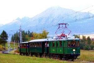 Kométa. Historický vlak brázdil donedávna po Vysokých Tatrách.