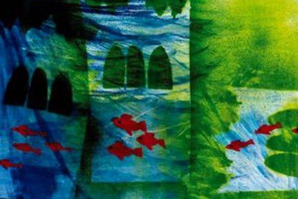 Víťazná práca. Jazmína Martinková sa inšpirovala kaprami pod zvonicou.