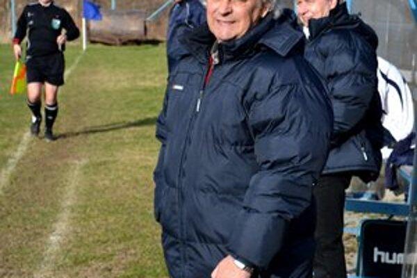 Ladislav Lipnický. Tréner Vysokých Tatier je pred šlágrom kola optimistom.