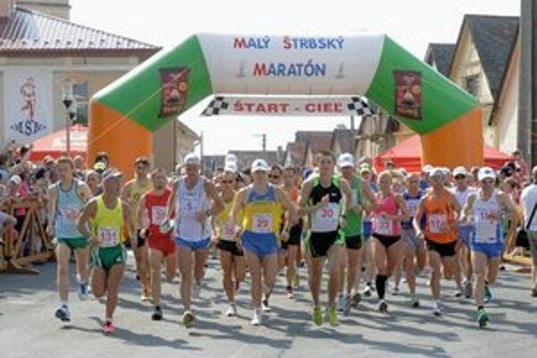 Tesne po štarte. Malý štrbský maratón napísal už 35. kapitolu.