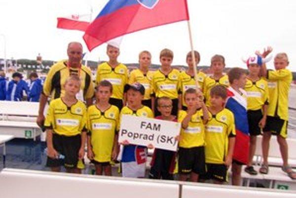 FAM Poprad reprezentovala Slovensko v poľskom Gdansku.
