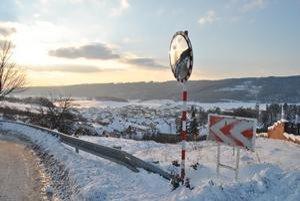 Gánovce načas odrezali od sveta snehové záveje.