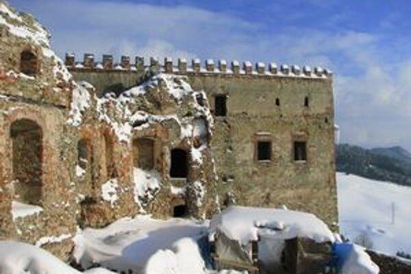 Renesančný palác hradu Ľubovňa.