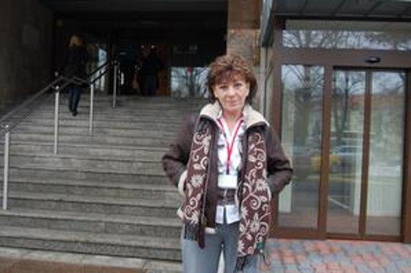 Anna Schlosserová. Dankova bývalá zamestnankyňa a rivalka v primátorských voľbách šéfuje zariadeniu opatrovateľských služieb.