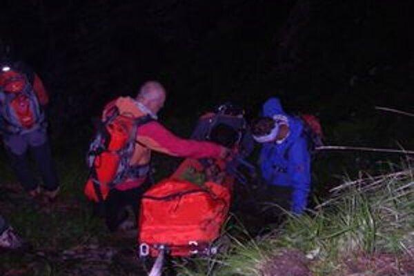 Akcia Záchrannej horskej služby už poľskému horolezcovi nemohla zachrániť život.
