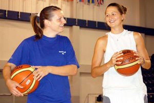 Jana Vacková (zľava) a Romina Ciappinová.