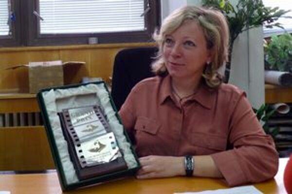 Riaditeľka festivalu Mária Hámorová.