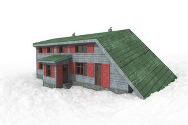 Chata pod Rysmi. Takto by mala vyzerať vynovená chata vo Vysokých Tatrách.