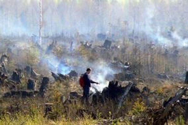 Hasiči najväčší a spočiatku nekontrolovateľný požiar dostali pod kontrolu. Koniec roboty to však ešte neznamenalo.