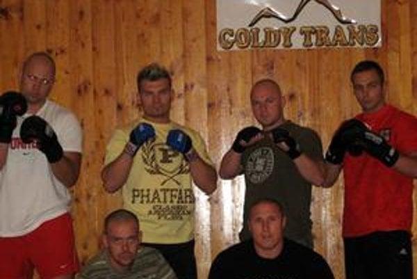 Novovytvorený klub. Fight Team Gerard Poprad.