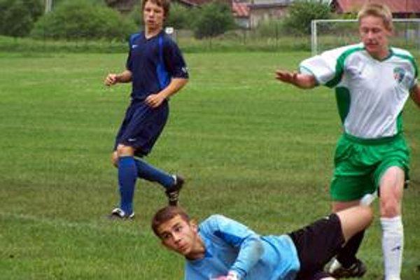 Finálová momentka. Prešov porazil Spišskú Novú Ves (1:0).
