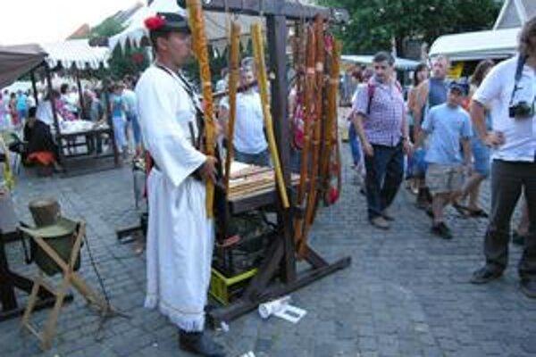 Kežmarok bol v minulosti vyhľadávanou obchodnou križovatkou. Počas víkendu tu bude znova rušno.