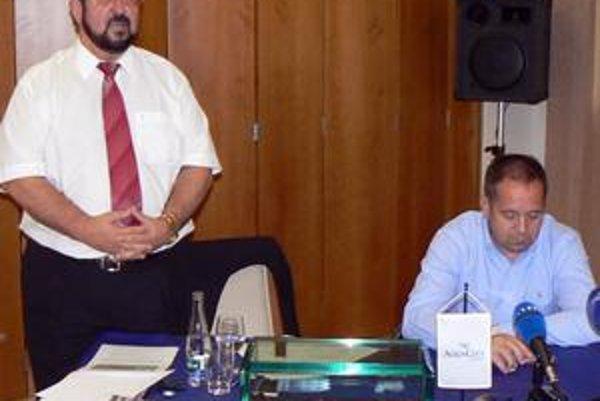 Koniec peňazí, koniec futbalu? Podnikateľ Telensky a primátor Danko s vážnou tvárou povedali, že Aquacity z futbalu odchádza kvôli médiám.