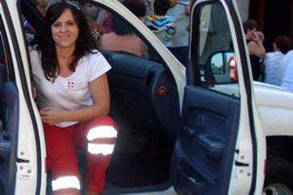 Záchranárka Danka Spišiaková dnes odlieta za oceán.