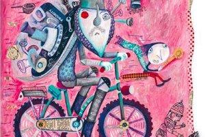 Ilustrácia z knižky Žirafia mama a iné príšery, ktorá vychádza v týchto dňoch.